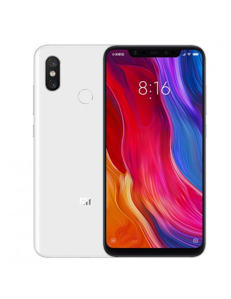 Xiaomi Mi 8 6GB/128GB Global Dual SIM | White
