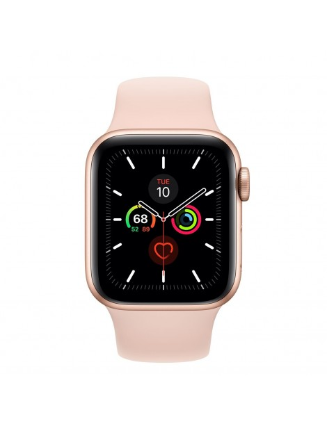 Apple Watch Series 5 40mm | Gold-Pink Sport Band